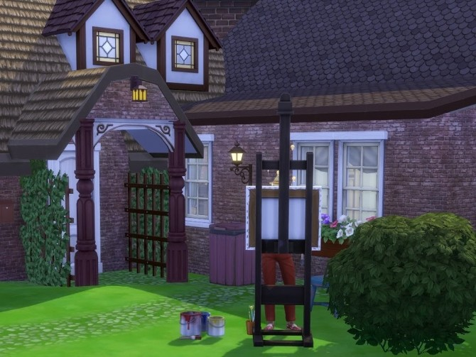 Sims 4 Hillside Cottage at KyriaT's Sims 4 World