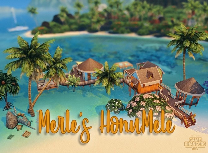 Merle's HonuMele Island Living Build at Miss Ruby Bird image 12116 670x495 Sims 4 Updates