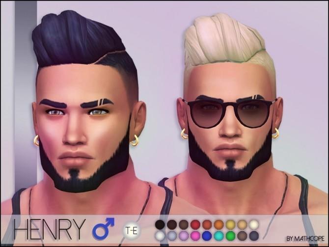Sims 4 Henry hair M by Mathcope at Sims 4 Studio