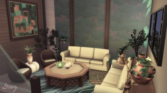 Sims 4 Tropical Modern Villa CC Free at GravySims