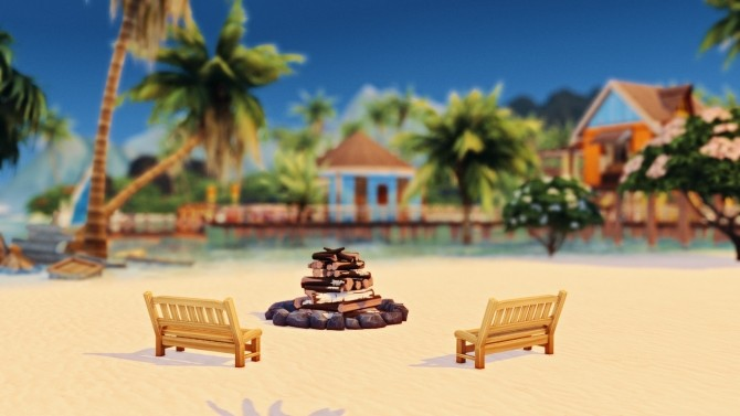 Merle's HonuMele Island Living Build at Miss Ruby Bird image 123111 670x377 Sims 4 Updates