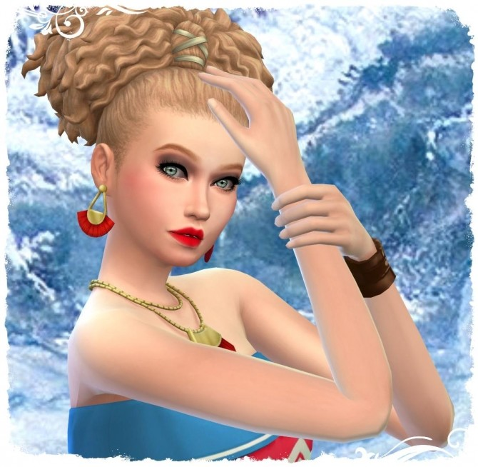 Sims 4 Oceane by Cedric13 at LUnivers de Nicole