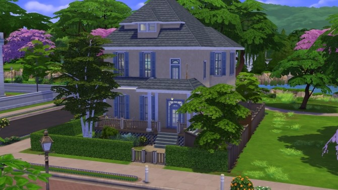 Sims 4 Church Street Special house by Copper Penny at Mod The Sims