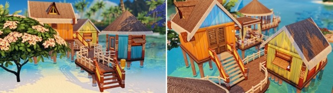 Merle's HonuMele Island Living Build at Miss Ruby Bird image 1289 670x188 Sims 4 Updates