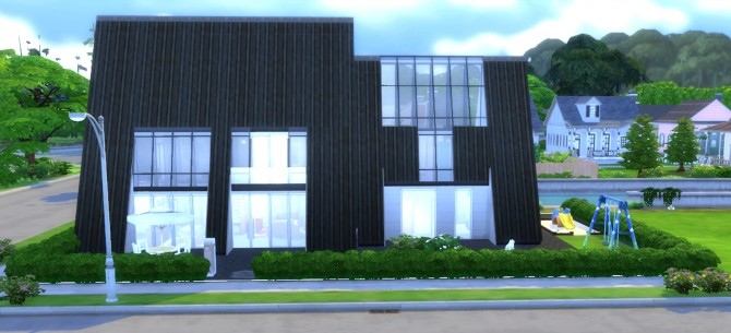 Pyramide House by valbreizh at Mod The Sims image 12912 670x305 Sims 4 Updates