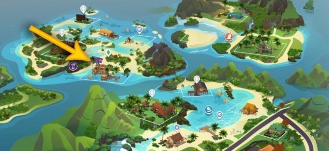 Merle's HonuMele Island Living Build at Miss Ruby Bird image 1299 670x308 Sims 4 Updates