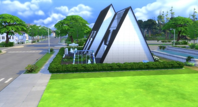 Pyramide House by valbreizh at Mod The Sims image 13012 670x365 Sims 4 Updates