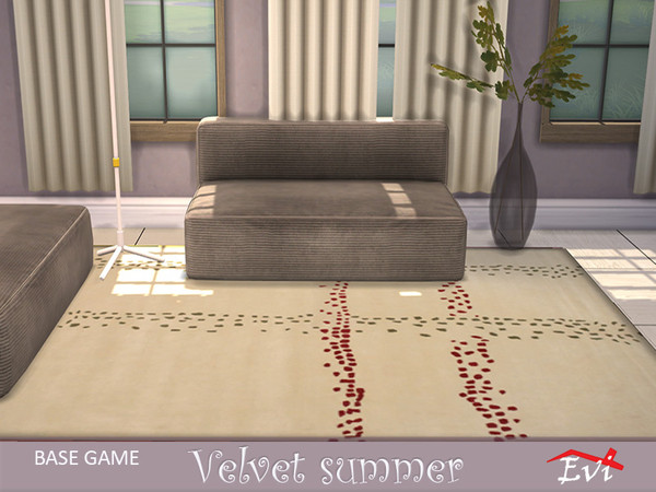 Velvet summer rugs by evi at TSR image 1320 Sims 4 Updates