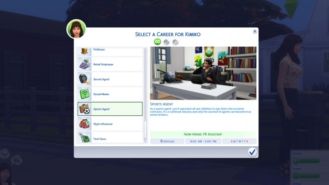 Sims 4 cc careers