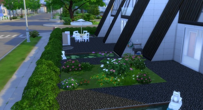 Pyramide House by valbreizh at Mod The Sims image 13216 670x365 Sims 4 Updates