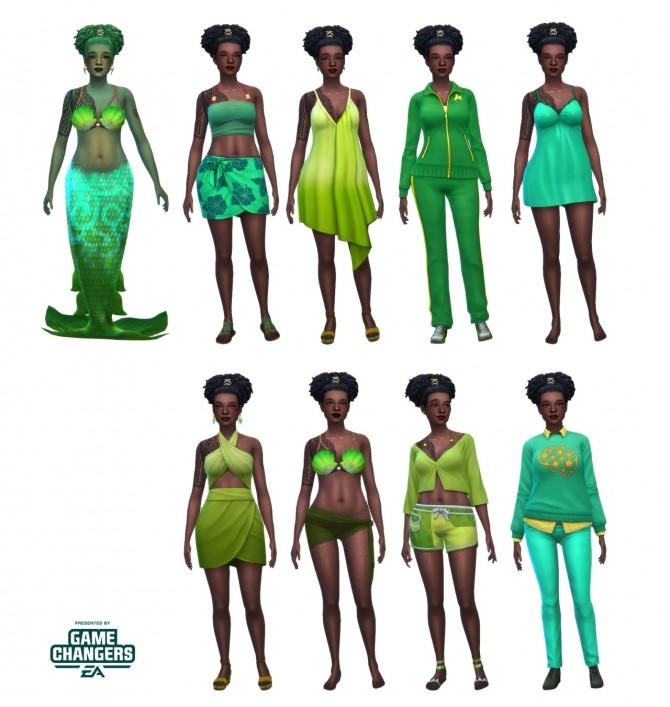 Sims 4 Merle Kekoa TS4 Island Living Sim at Miss Ruby Bird