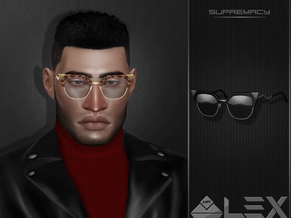 Supremacy sunglasses by Mr.Alex at TSR image 1338 Sims 4 Updates