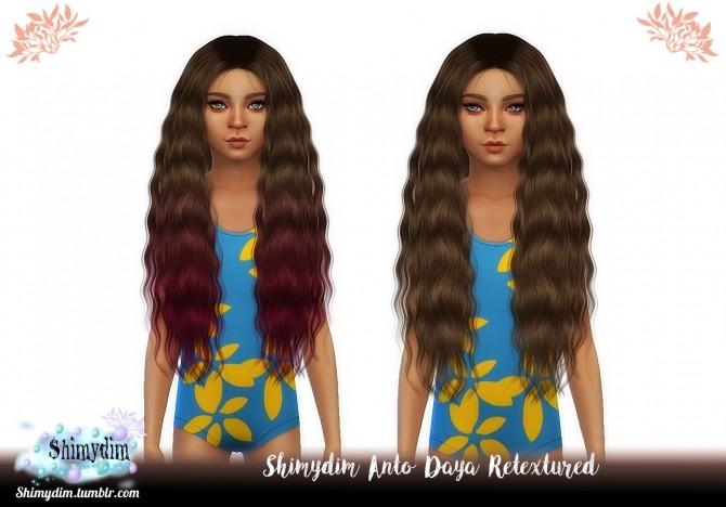 Anto Daya Hair Long & Short + Child + Ombre Naturals + Unnaturals at Shimydim Sims image 13612 670x468 Sims 4 Updates