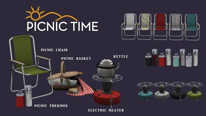 Sims 4 Picnic Time set (P) at Leo Sims