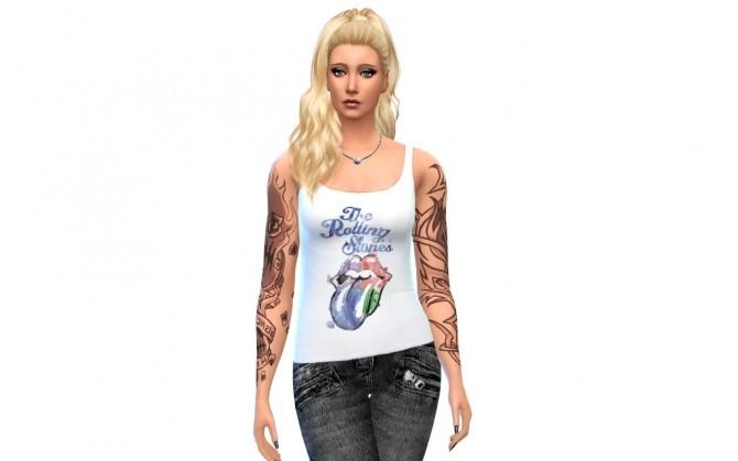 Sims 4 Tank tops at Louisa Creations4Sims