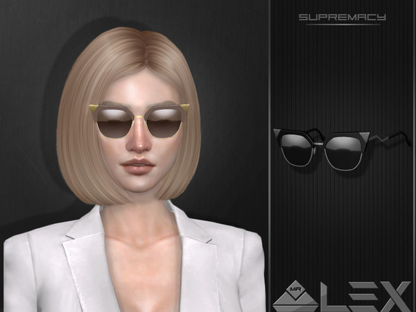 Supremacy sunglasses by Mr.Alex at TSR image 1428 Sims 4 Updates