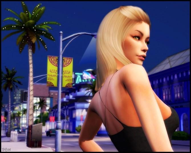 Sims 4 KARLIE TOP at Blue8white