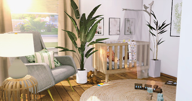 Sims 4 Toddler Room S