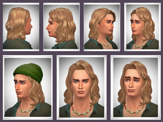 Sims 4 Gary Wave Hair at Birksches Sims Blog