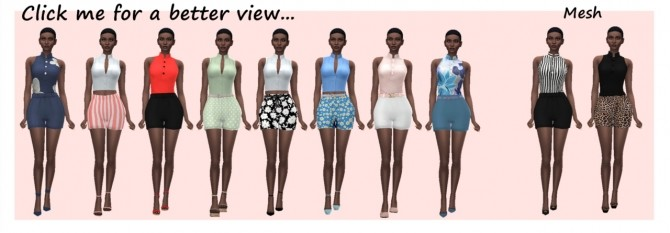 Sims 4 BL'S ROMPER RECOLOUR at Sims4Sue