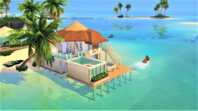 Sims 4 Coconut Shallow house at Agathea k