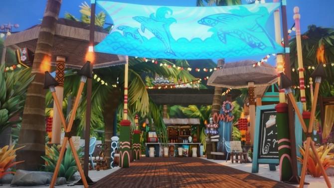 Sulani Bar At Wiz Creations 187 Sims 4 Updates