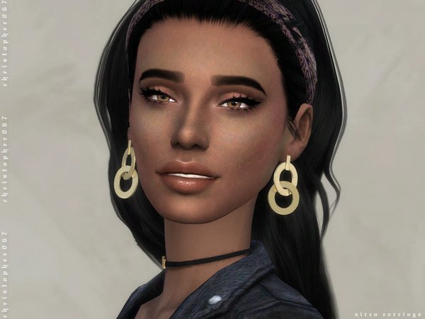 Siren Earrings by Christopher067 at TSR image 1617 Sims 4 Updates