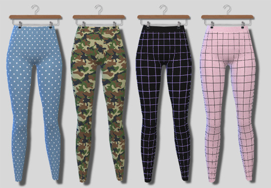 Sims 4 Leggings at Descargas Sims