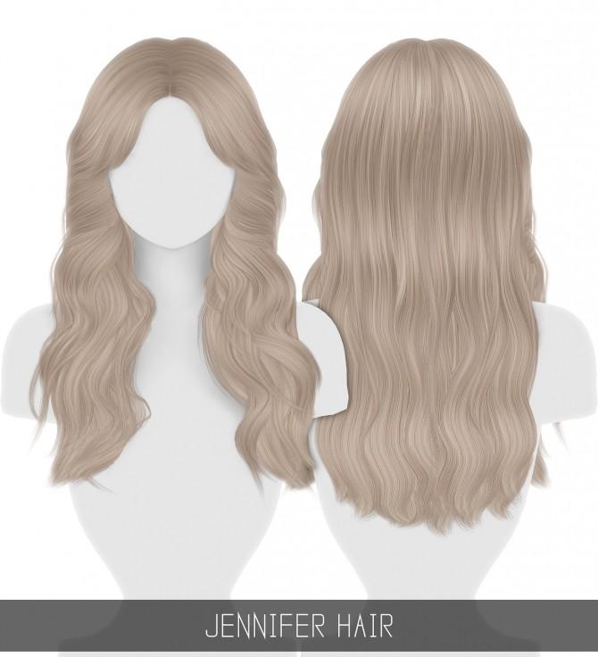 Sims 4 JENNIFER HAIR + TODDLER & CHILD at Simpliciaty