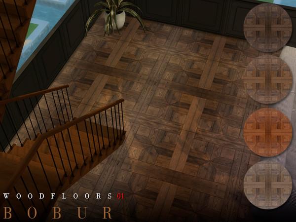 Wood floors 01 by Bobur3 at TSR image 1718 Sims 4 Updates