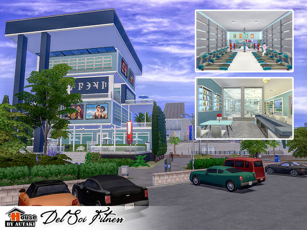Del Soi Fitness by autaki at TSR image 1740 Sims 4 Updates