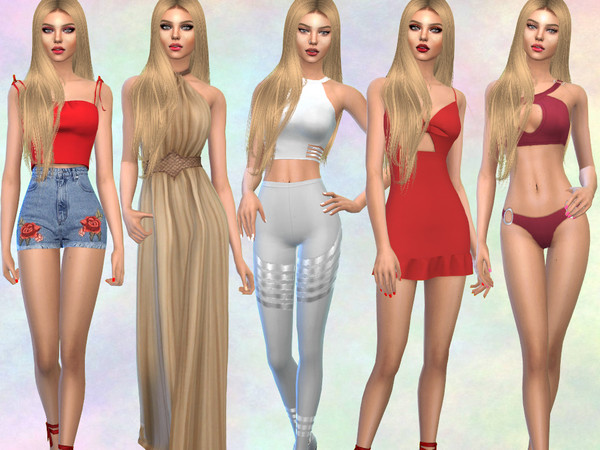 Sims 4 Ani Balevska by divaka45 at TSR