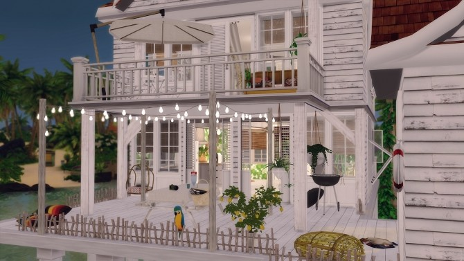 43 Tyree Island Living House At Soulsistersims 187 Sims 4