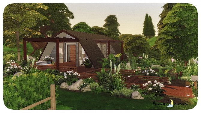 Sims 4 TINY ECO HOME at Luna Sims