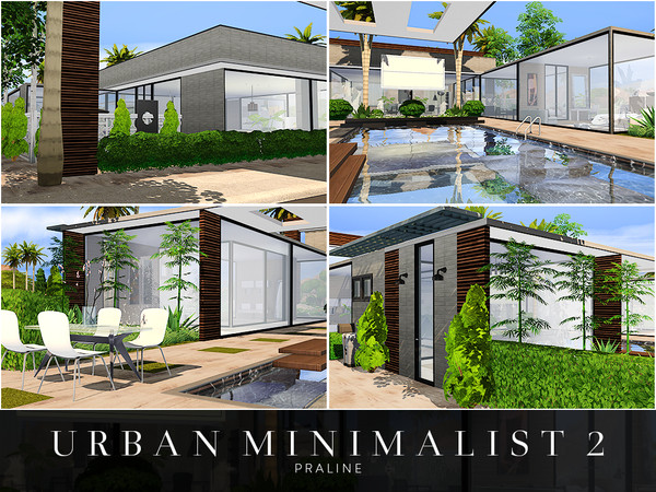 Urban Minimalist 2 house by Pralinesims at TSR image 1814 Sims 4 Updates