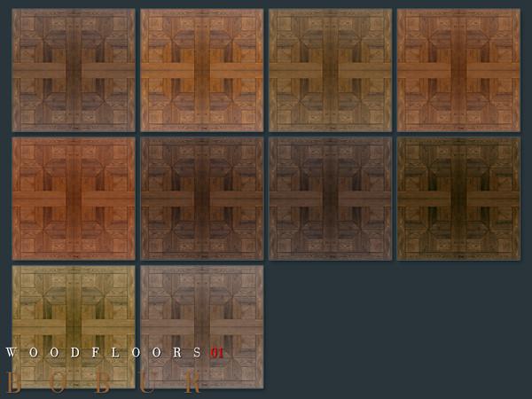 Wood floors 01 by Bobur3 at TSR image 1817 Sims 4 Updates
