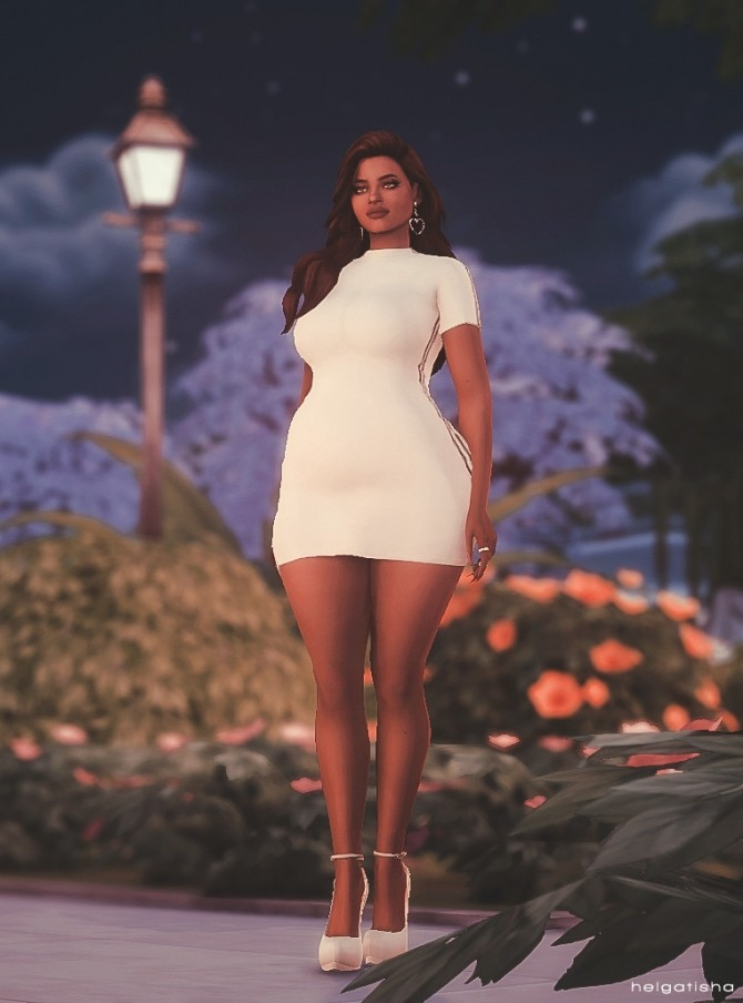 Model Poses 24 At Helga Tisha 187 Sims 4 Updates