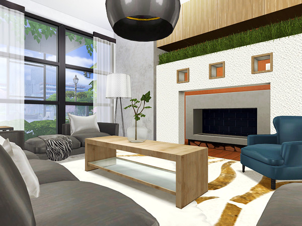 Lilien contemporary house by Rirann at TSR image 1823 Sims 4 Updates