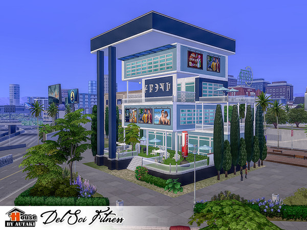 Del Soi Fitness by autaki at TSR image 1836 Sims 4 Updates