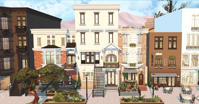 Small Town at HoangLap's Sims image 1854 670x352 Sims 4 Updates