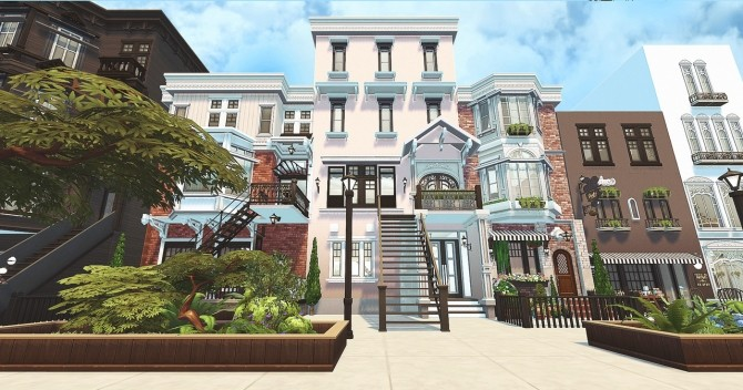 Small Town at HoangLap's Sims image 1864 670x352 Sims 4 Updates