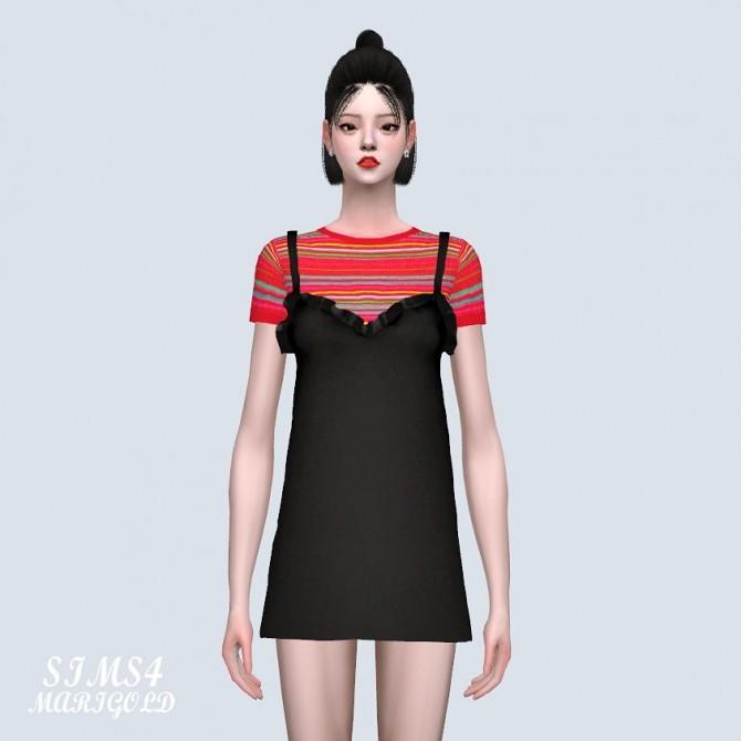 Sims 4 Mini Dress With Top (P) at Marigold