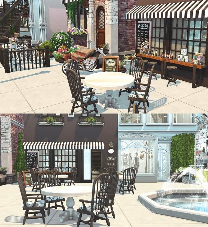 Small Town at HoangLap's Sims image 1873 670x734 Sims 4 Updates
