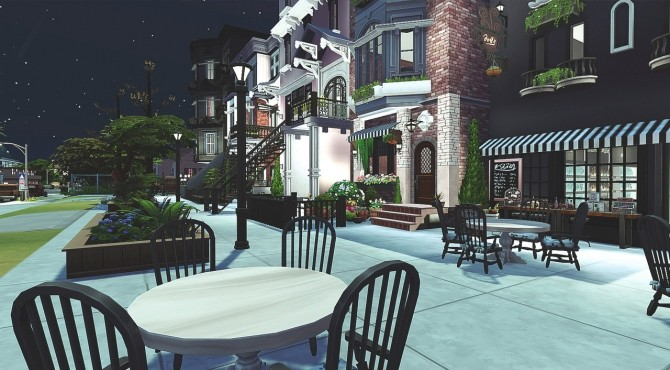 Sims 4 Small Town at HoangLap's Sims