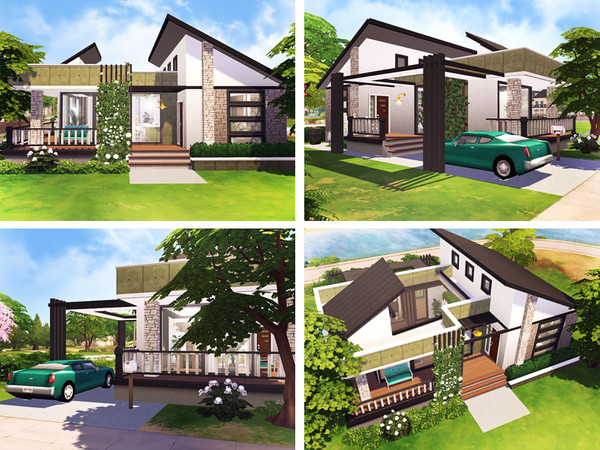 Gilad tiny cottage by Rirann at TSR image 1924 Sims 4 Updates