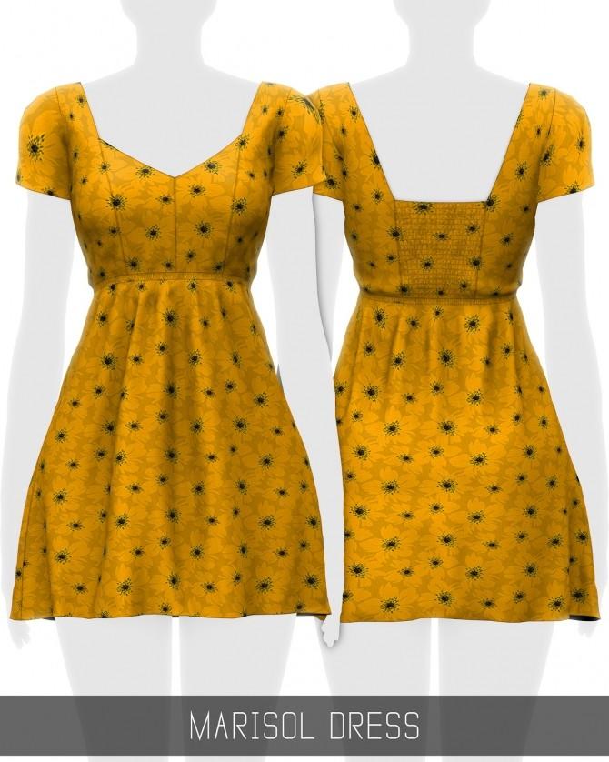 Sims 4 Marisol dress (P) at Simpliciaty