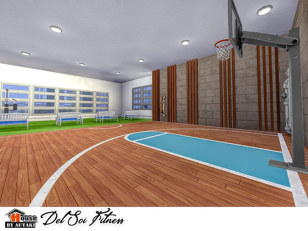 Del Soi Fitness by autaki at TSR image 1935 Sims 4 Updates