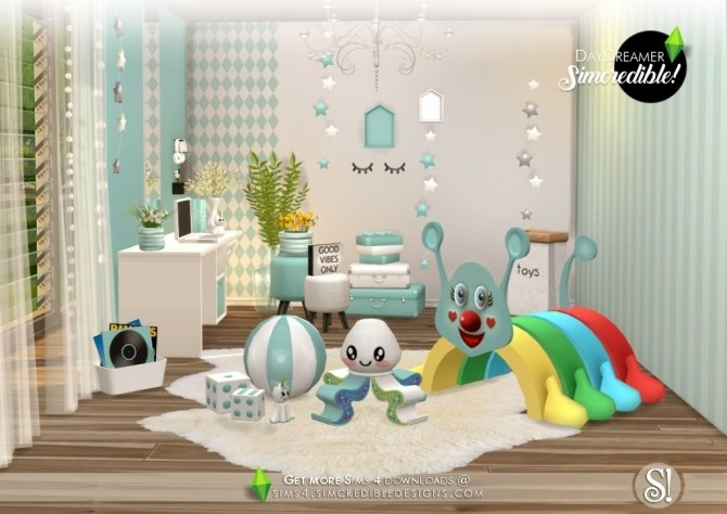 Daydreamer Playroom At Simcredible Designs 4 187 Sims 4 Updates