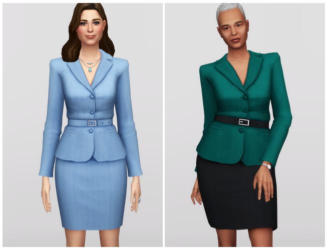 Sims 4 Princess of Suit at Rusty Nail