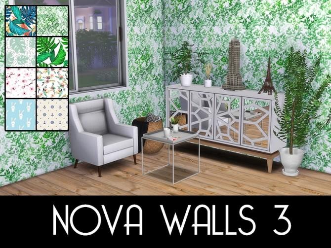 Sims 4 NOVA WALLS at MODELSIMS4